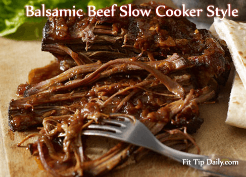 Low Carb Recipe – Delicious Crock Pot Balsamic Beef