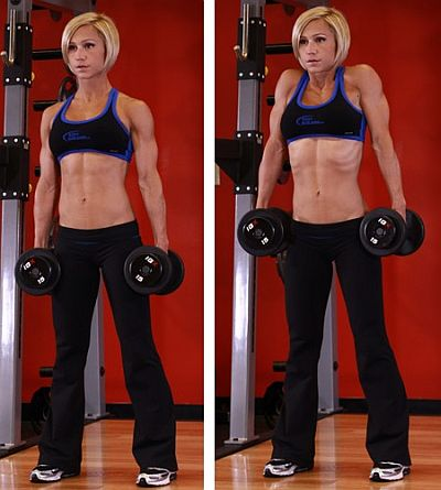 shoulder shrugs woman