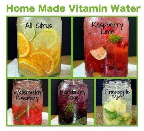 vitamin water at home
