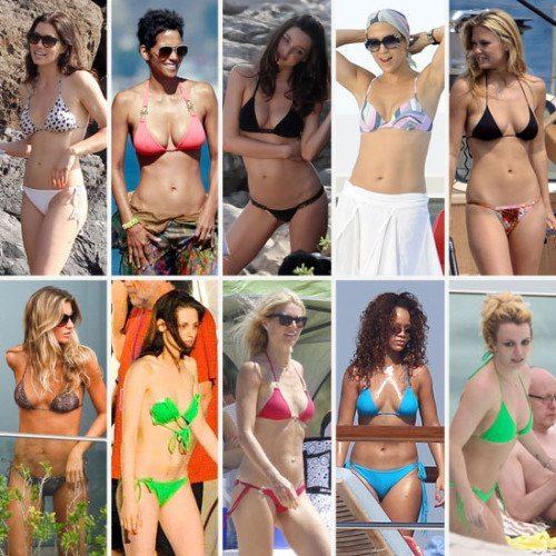celebrity bodies