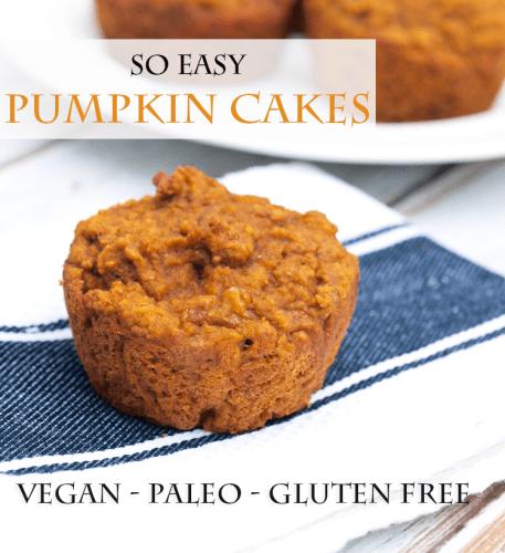 vegan pumpkin pie muffin