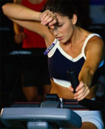 how fat to return to exercise after being sick