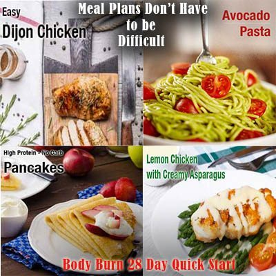 gluten free dairy free meal plan