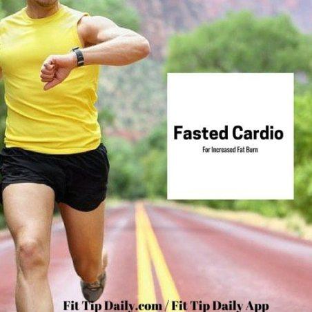 fasting cardio