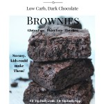 Low Carb Brownies – Blend, Bake and Enjoy