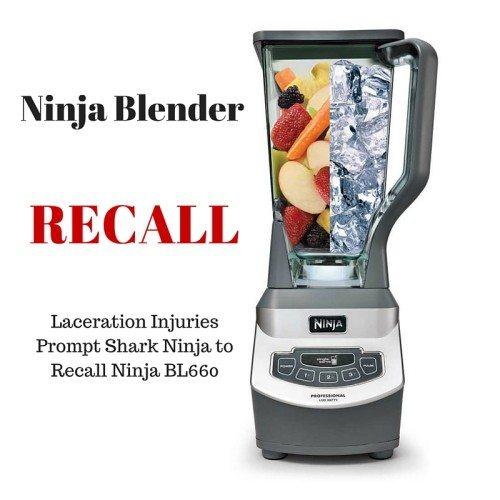Ninja Blender Recall