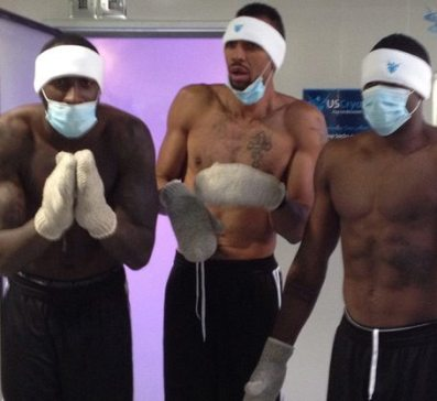 blazers cryotherapy