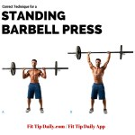 Correct Technique for the Standing Barbell Press