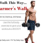 Farmer's Walk for Functional Fitness