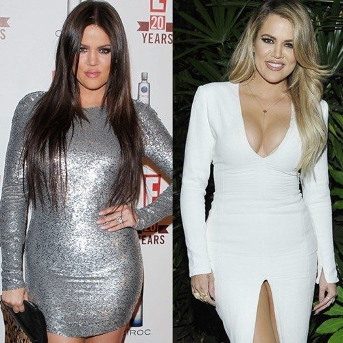 Khloe Kardashian's weight loss
