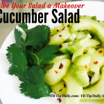 Refreshing Cucumber Salad – Give Your Salad a Makeover