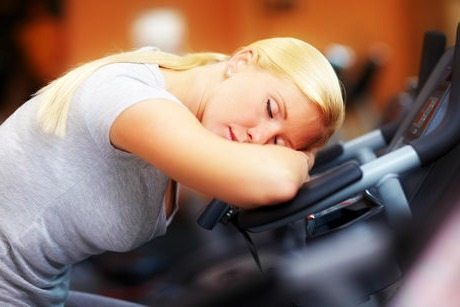 sleeping-while-exercising