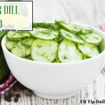 Low Carb Monday – Cucumber Dill Salad