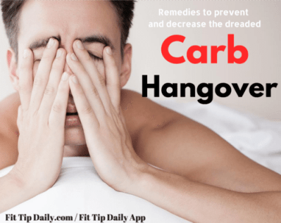 remedies for a carb hangover