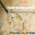 Gluten Free Copycat Panera Chicken and Rice Soup