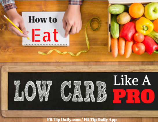how to eat low carb