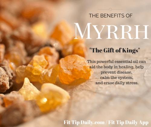benefits of myrrh essential oils