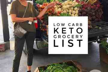 low carb keto grocery list