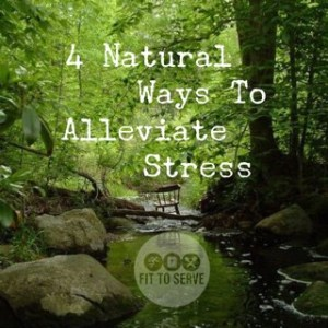 natural ways to alleviate stress