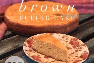 keto brown butter cake