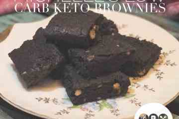 Richest Darkest Chocolate Keto Brownies