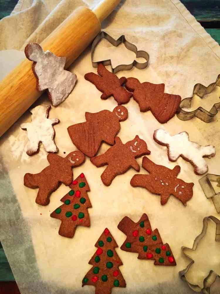 spicy low carb gingerbread cookie