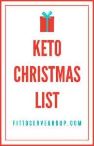 Ultimate Keto Christmas List