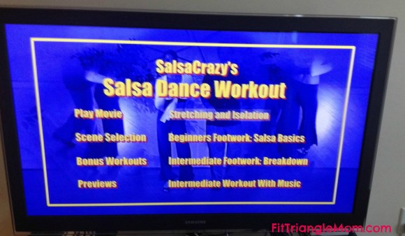 Salsa crazy dance workout