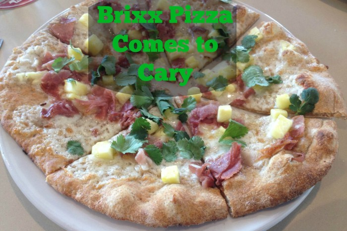 Brixx Pizza Comes to Cary, FitTriangleMom.com