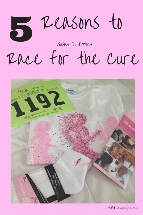 5 Reasons to Race for the Cure for breast cancer