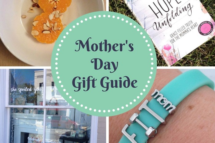 mother's day gift guide that will refresh, rejuvenate and give mom the rest she needs.