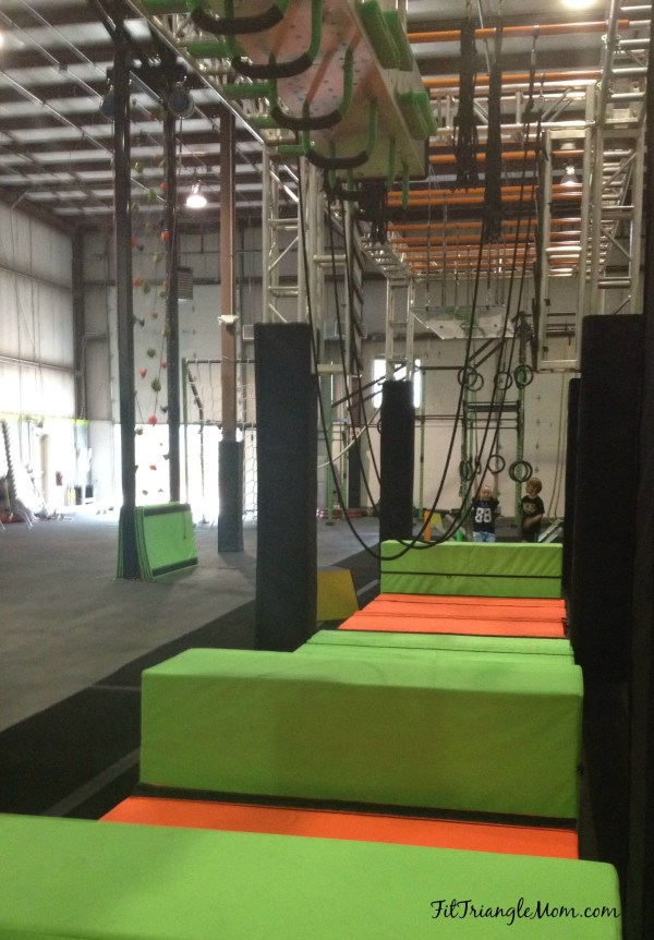 Ninja training at Warrior Tech OCR. Combine fitness, running, and obstacle courses into a gym with classes, camps, birthday parties & more.