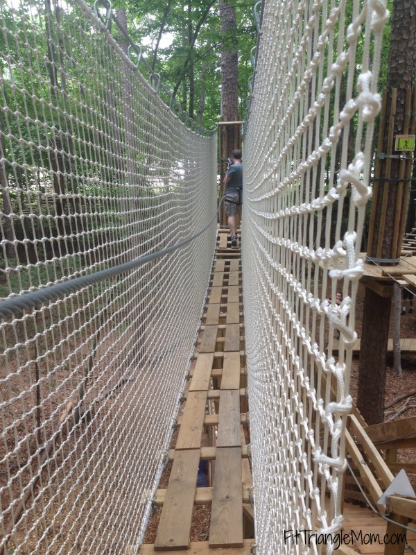 Go Ape Adventures offers different challenges on their rope course but are suitable for 5 year-olds.