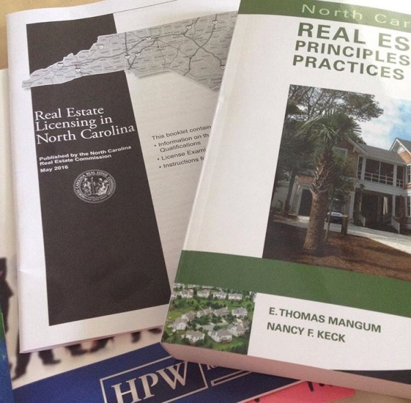 Growing my career included going to Real Estate School. 2017 reflections.