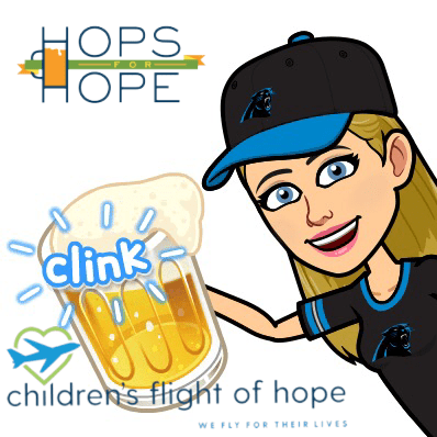 hops for hope, craft beer, raleigh