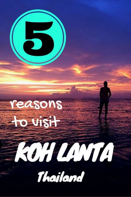 5 reasons to visit Koh Lanta Thailand including animal shelter, best sunsets in Thailand fittwotravel.com