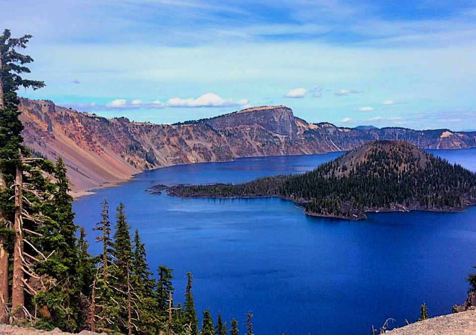 Seven Wonders Of Oregon Crater Lake National Park