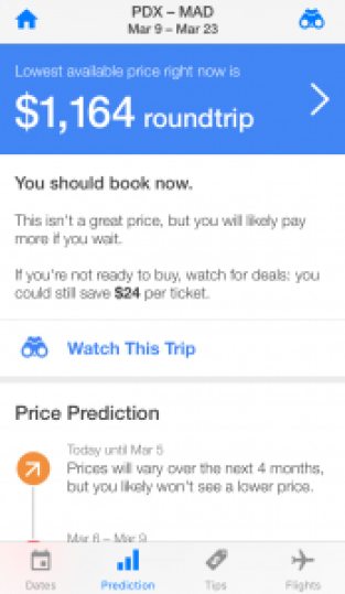 Hopper flight search booking cheap flights