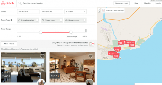 airbnb cabo fit two travel