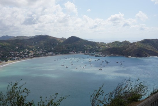 view from jesus statue nicaragua
