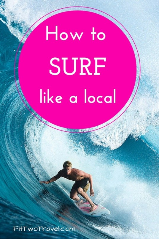 How to surf like a local, Learn to surf like a pro, Surfing lessons in Nicaragua. Tips and tricks to become a great surfer fittwotravel.com