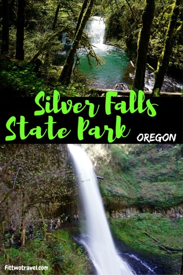 Explore the beauty of Silver Falls State Park. Hiking, waterfalls, lush forests all in one, this Oregon park has it all. fittwotravel.com