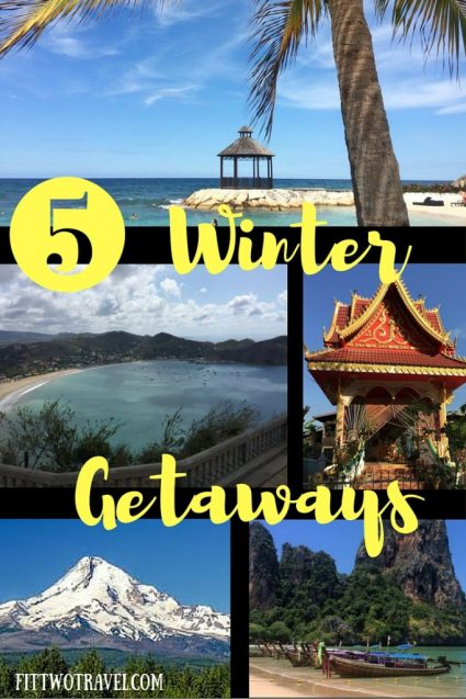 winter getaways pinterest