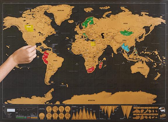 uncommon goods travel map