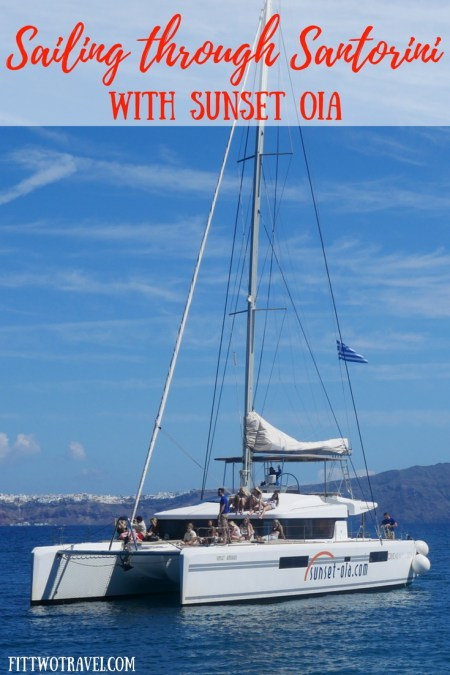 A sailing tour around Santorini is the best way to see and explore the island, including the hot springs and the Red Beach. Book a tour with Sunset Oia the next time you are in Santorini fittwotravel.com
