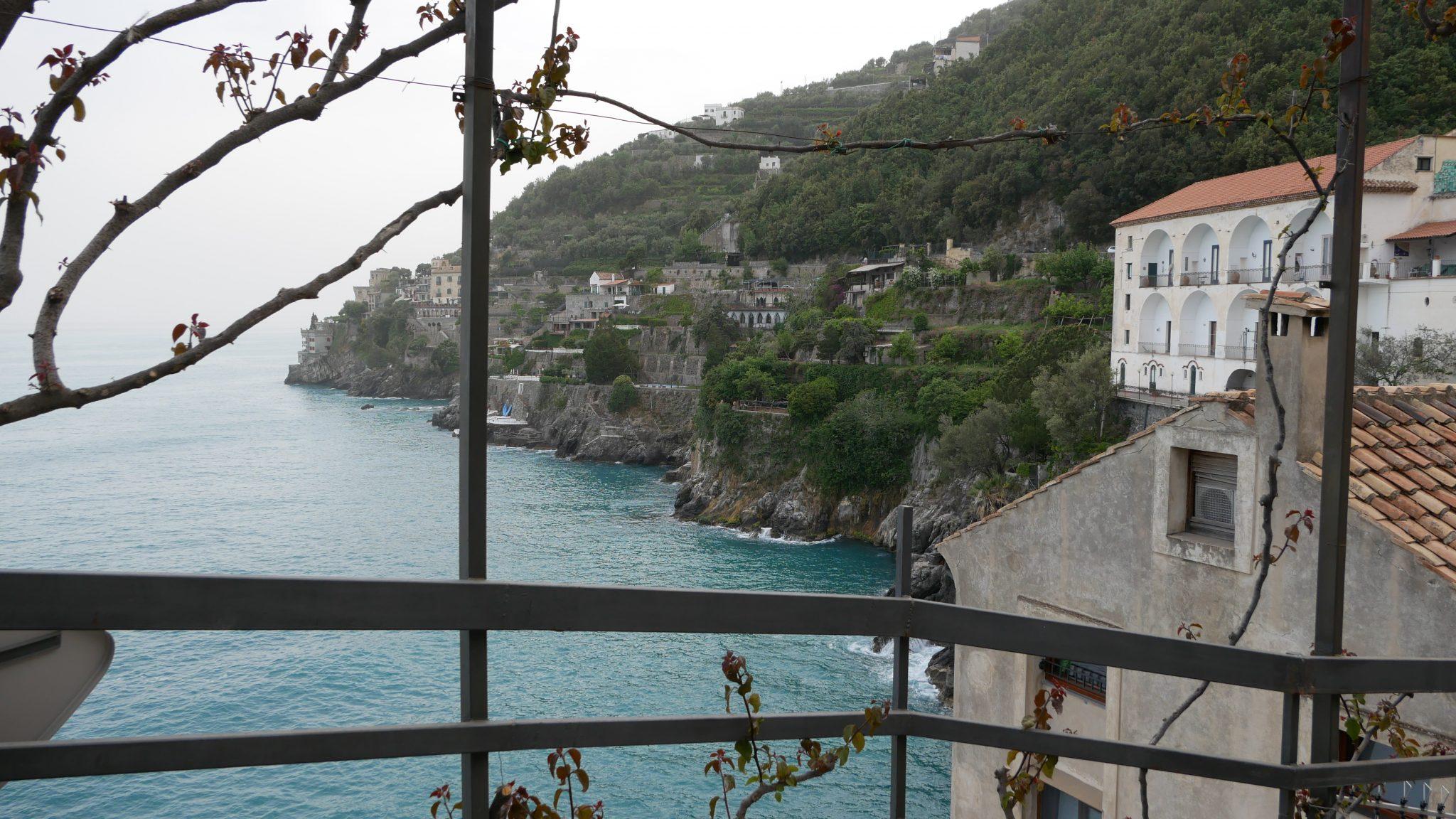 Hotel Marmorata amalfi coast hotel with view