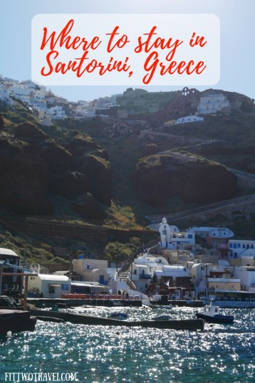 The guide to where to stay in Santorini. Whether you are looking for a budget hotel or luxury villa in Santorini with a private pool, we tell you the best hotels in Santorini Fittwotravel.com