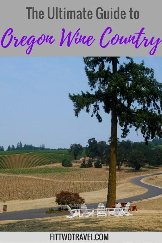 Oregon Willamette Valley Wineries fittwotravel.com