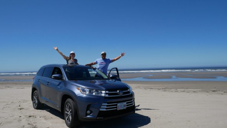 Toyota usa highlander hybrid Olympic athletes