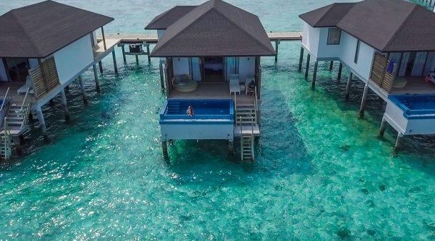best overwater bungalows maldives Robinson Club